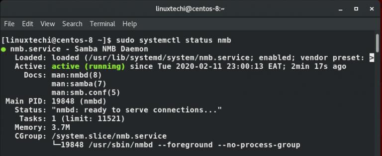 nmb-service-status-centos8-768x315-1