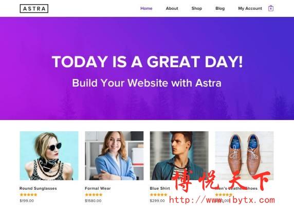 WordPress Astra主题-国外主机测评