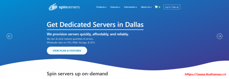spinservers:圣何塞机房,$389/月,2*e5-2683 v4,512G DDR4,2 * 3.84T SSD,10Gbps带宽