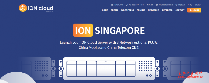 #优惠#iON:1核/2G/50G SSD/2T流量/1Gbps/洛杉矶&圣何塞/月付$8