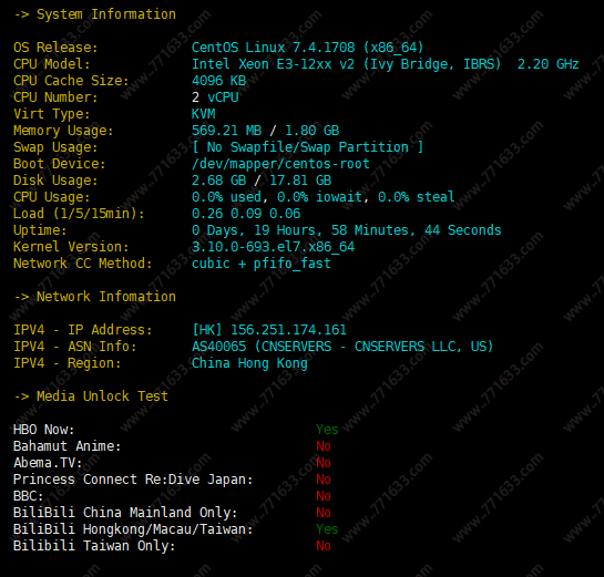 #优惠#六一云:香港CMI专线,10G防御,1核/1G/40G SSD/15Mbps/400G/月付36元