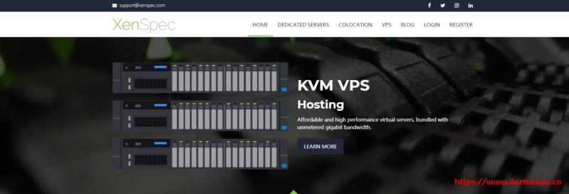xenspec:便宜美国独立服务器,圣何塞机房,$40/月,e3-1230v2/12G内存/500gSSD/10T流量/1Gbps带宽