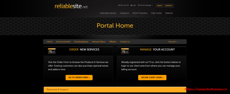 ReliableSite:$29/月/Atom D510/4GB内存/64GB SSD+500GB HD硬盘/DDOS/150TB流量/1Gbps端口/DDOS/洛杉矶/纽约/迈阿密