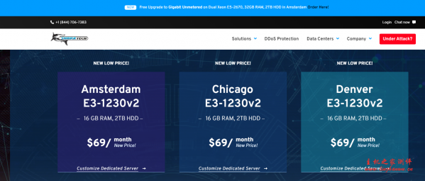 Sharktech:洛杉矶高防VPS五折,2G内存/30G SSD硬盘/4TB流量每月6.57美元起