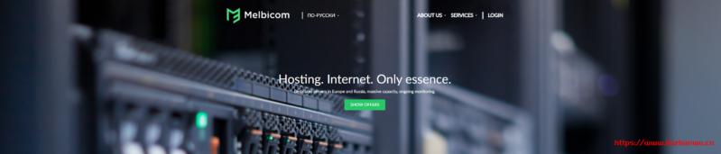 Melbicom:€2.9/月/2GB内存/20GB SSD空间/不限流量/1Gbps端口/KVM/莫斯科/荷兰/德国/保加利亚/立陶宛