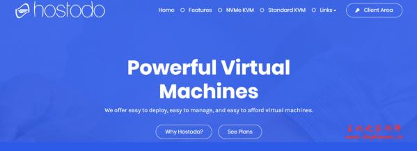Hostodo:$14.99/年/512MB内存/8GB NVMe空间/1TB流量/1Gbps端口/KVM/拉斯维加斯;送DirectAdmin授权