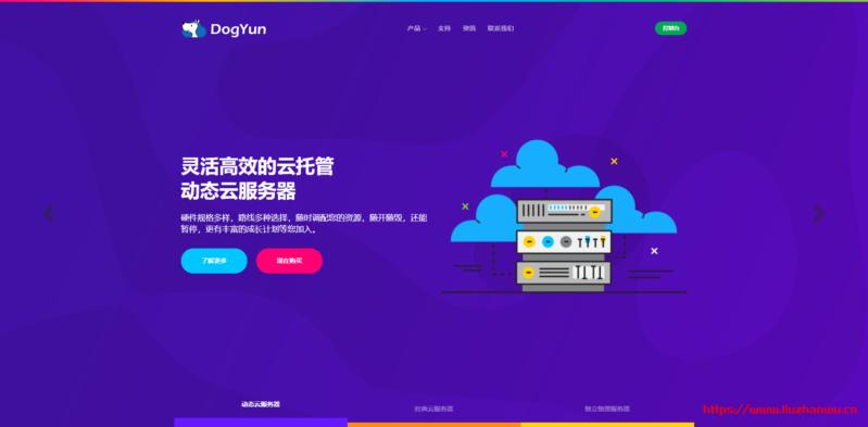 #双十一#dogyun:动态云服务器每日限制6折优惠,香港CN2/日本软银/韩国CN,独服立减100元