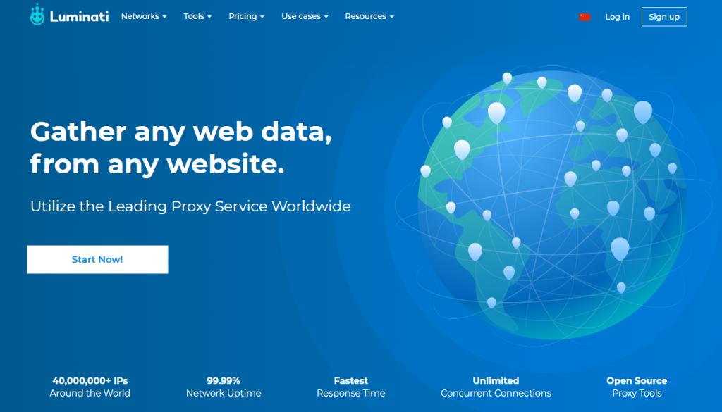 luminati:最专业的全球IP提供商,4千万动态IP、拨号IP、静态住宅IP、家庭动态IP、私人IP