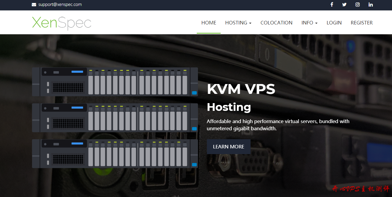 XenSpec:$2.4/月KVM-1GB/10GB/无限流量(1Gbps)/芝加哥-国外主机测评