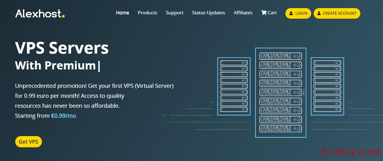 AlexHost:€11.8/年/1.5GB内存/10GB SSD空间/不限流量/100Mbps/DDOS/摩尔多瓦-国外主机测评