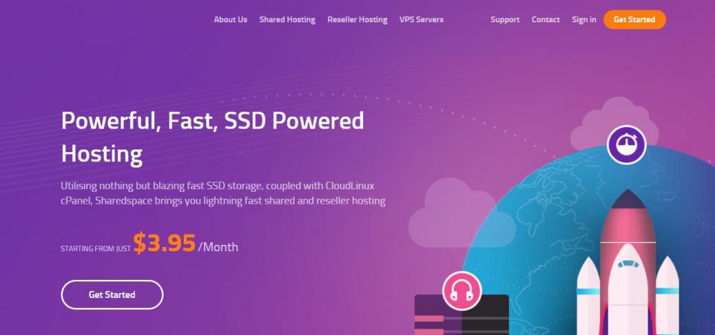 Sharedspace:$4/月/1GB内存/20GB SSD空间/1TB流量/10Gbps端口/KVM/DDOS/达拉斯-国外主机测评