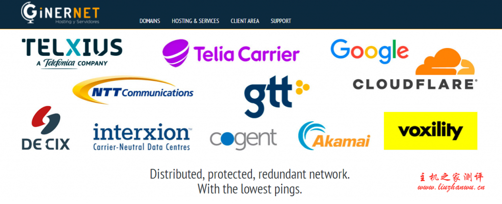 ginernet:老牌西班牙vps商家,9折优惠,€4.5/月,10Gbps带宽,1G内存/1核/10gNVMe/1T流量