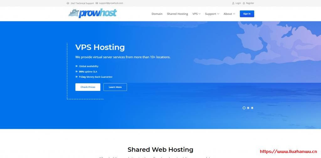 ProwHost:$3.99/月/512MB内存/20GB SSD空间/1TB流量/1Gbps端口/KVM/新加坡/日本/韩国/美国/欧洲等