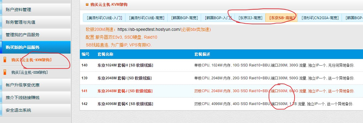 HostYun:52元/月/2核/2GB内存/30GB SSD空间/1TB流量/500Mbps端口/KVM/日本IIJ/日本软银