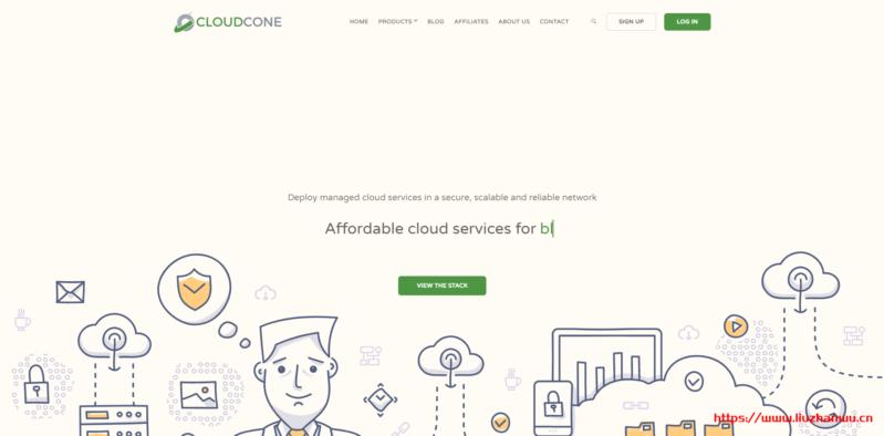 cloudcone:全新存储VPS,超大硬盘VPS,$20/年,最低配-1G内存/1核/250g/5T流量