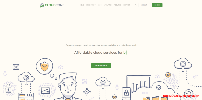 cloudcone:中国新年特别促销,美国VPS,低至$11/年-384M内存/10gSSD/8T流量