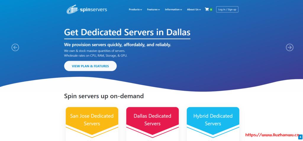 spinservers:圣何塞(10Gbps带宽)独立服务器测评-国外主机测评