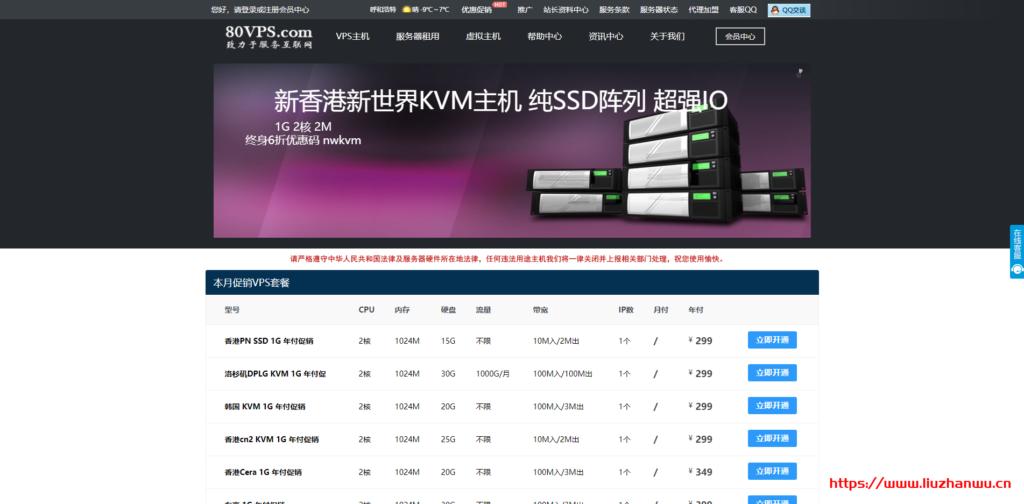 80VPS:AMD Ryzen+NVMe产品及新平台上线,洛杉矶Cera机房年付349元起