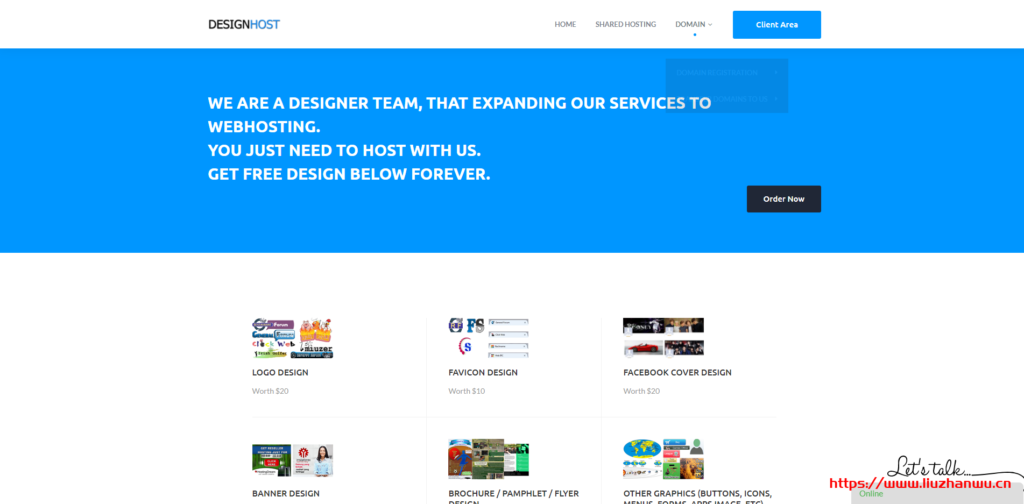Designhost:美国堪萨斯虚拟主机,SSD硬盘,不限空间、不限流量,年付12美金