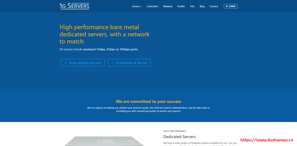 1GServers:美国凤凰城独立服务器$29/月_E3-1230v2/8GB内存/2X1TB硬盘/20TB流量/1Gbps端口-国外主机测评