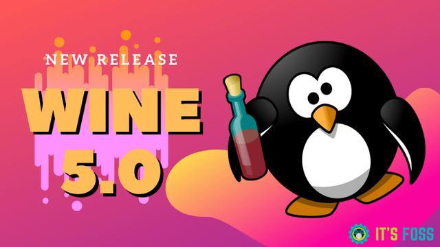Wine 5.0 发布了