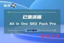 WP插件:All in One SEO Pack Pro v3.6.1 [已激活版]-国外主机测评